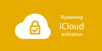 Bypassing iCloud Activation