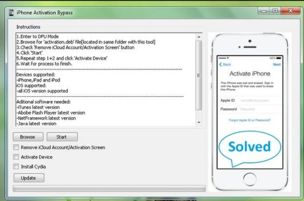 Top 13 iCloud Bypass Tools 2018 - Bypass iCloud Activation Lock Free